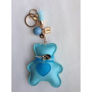 PORTE CLE TURQUOISE