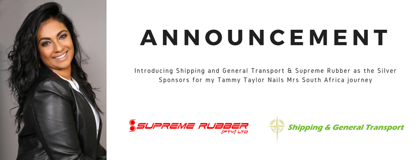 Announcement: Thank you to Shipping and General Transport and Supreme Rubber