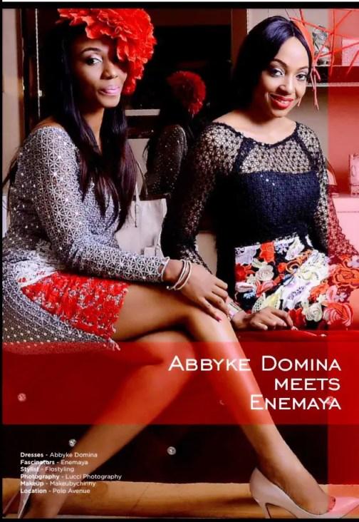 the celebrity cover abbyke domina-amillionstyles
