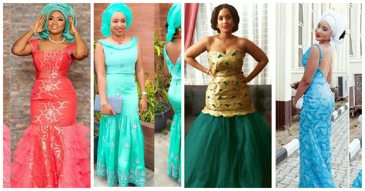 21 Stylish Wedding Guest Aso Ebi Styles To Get Inspired From.