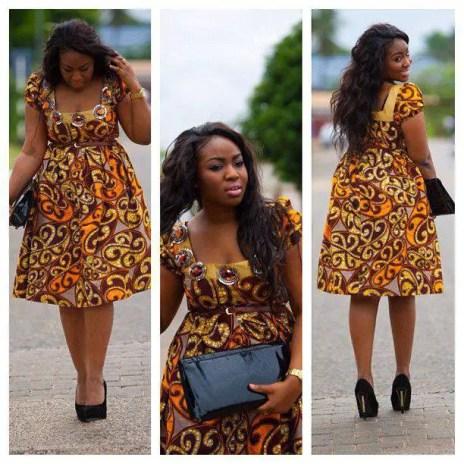 aso ebi ankara styles short gowns-amillionstyles5
