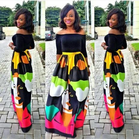 maxi skirt amillionstyles