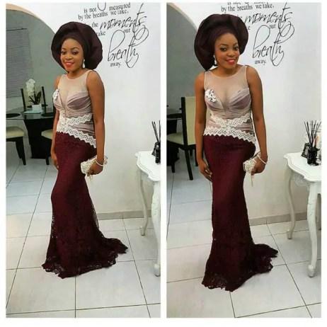 Amazing Asoebi Styles This Weekend @kathyanthony - AmillionStyles