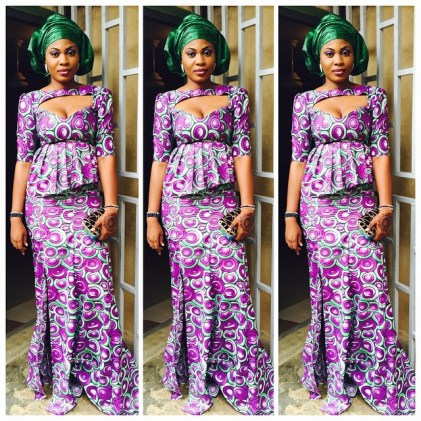 Amazing & Colorful Ankara Outfits 2015 5