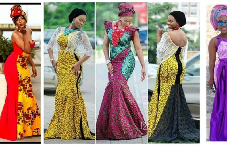 Ankara Long Gown Style - AmillionStyles