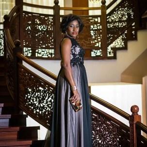 Celebrity Gown Ireti-Doyle @AmillionStyless