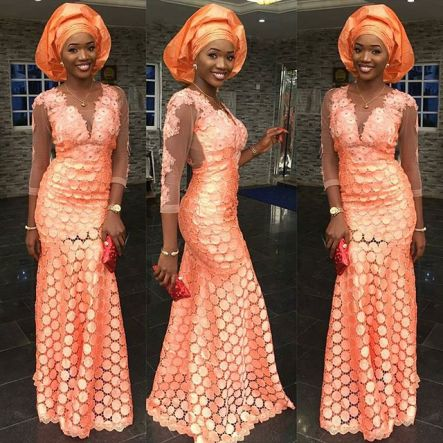 Colorful Aso ebi In Lace Lookbook 10 @Glorodiva