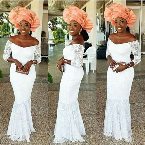 Colorful Aso ebi In Lace Lookbook 10 @Idoghana