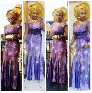 Colorful Asoebi In Lace Lookbook 9 - AmillionStyless