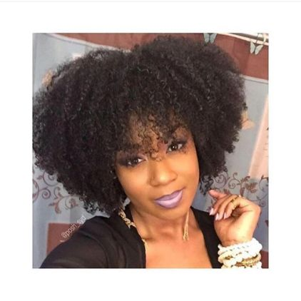 Kinky Curly Hairstyles @Posh_Syd - AmillionStyles