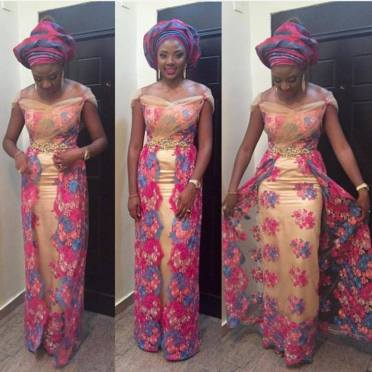 Colorful Asoebi In Lace Lookbook 9 - Amillionstyles1