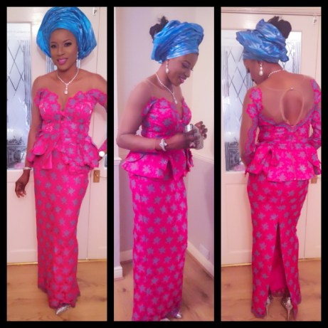 Latest Aso Ebi Styles Lace Inspired lookbook 2 @bouquiset
