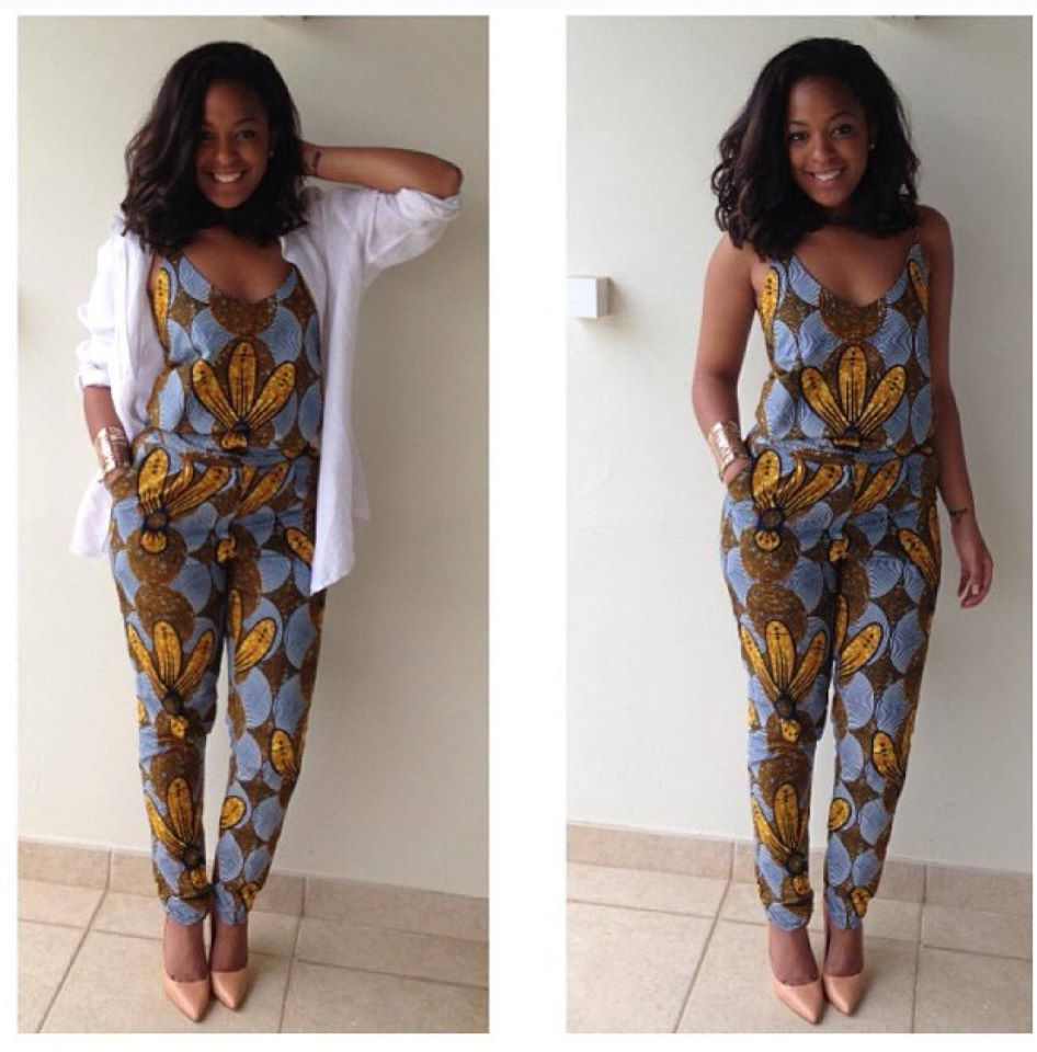 Complete Ankara Jumpsuit For Ladies A Million Styles Africa