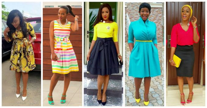 church outfits amillionstyles africa