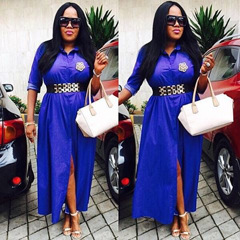 10 Awesome Females Rocking Denim Outfits. @aimahkutoyin