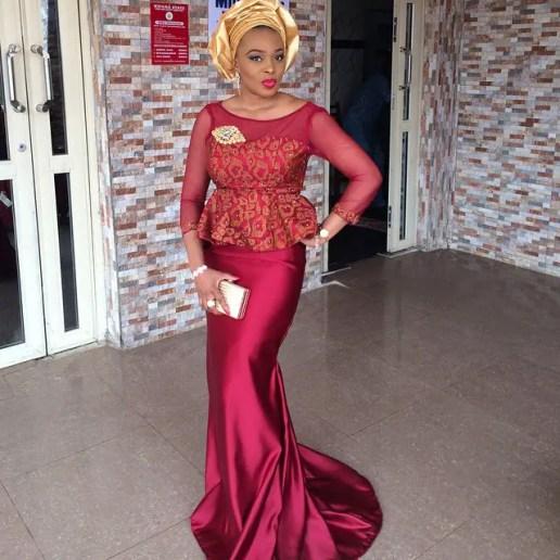 asoebi style in amillionstyles @abimbola_ize_ajayi