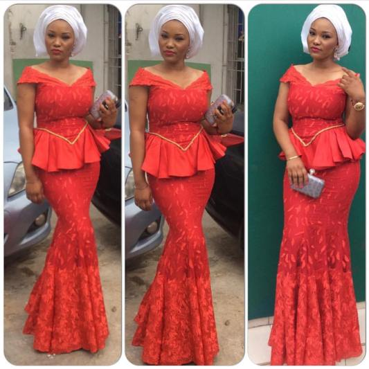 Beautiful Aso Ebi Styles - You Need To Cop @seddymakeovers