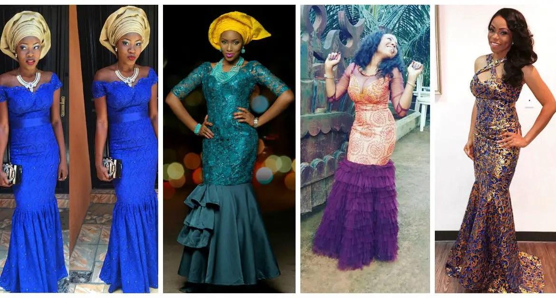 10 Most Beautiful & Latest Aso Ebi Styles. | A Million Styles Africa