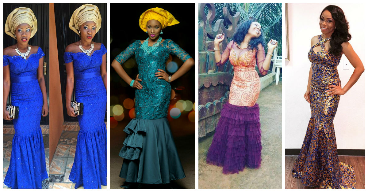 10 Most Beautiful & Latest Aso Ebi Styles. | A Million Styles Africa