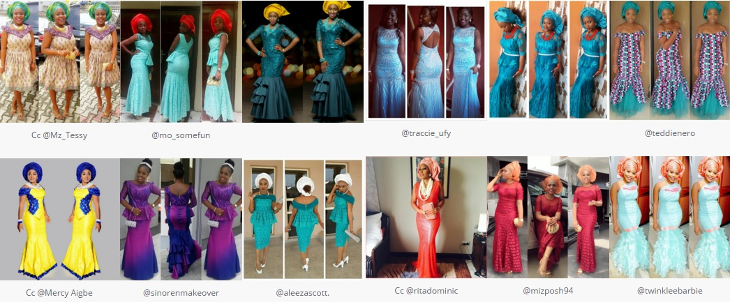 31 Amazing Aso Ebi Styles In January 2017.