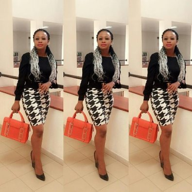 Classy And Stunning Outfit For Church amillionstyles.com @christaminaj