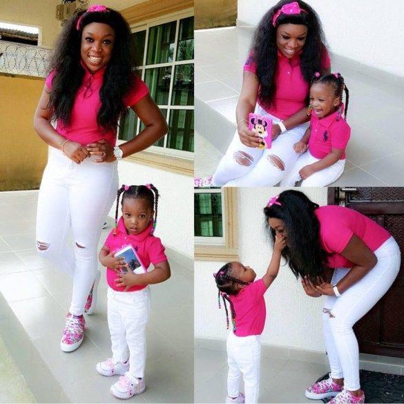 Stunning Outfit For Mother and Daughter amillionstyles.com @ndie_ebong