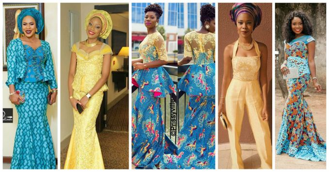 10 Beautiful Asoebi and Ankara Styles