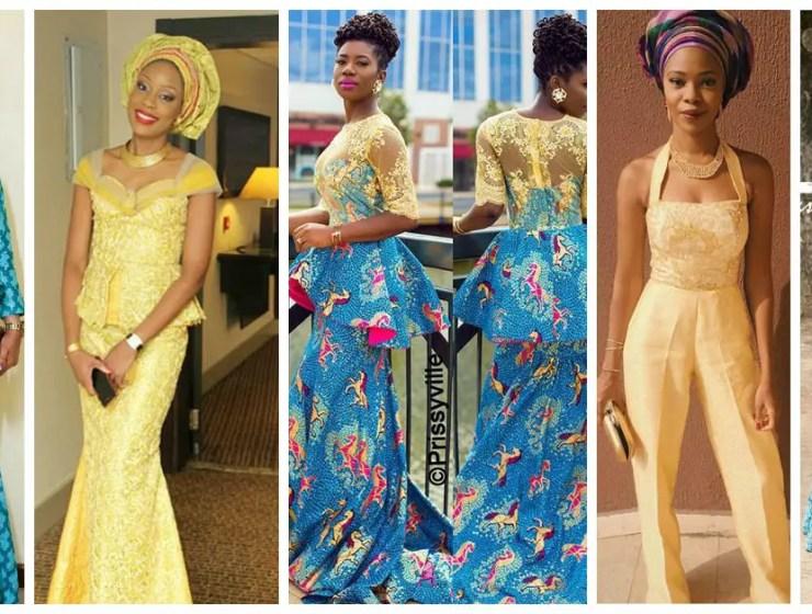 10 Beautiful Asoebi and Ankara Styles