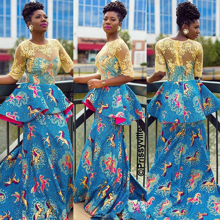 10 Beautiful Asoebi And Ankara Styles Over The Weekend A Million Styles Africa