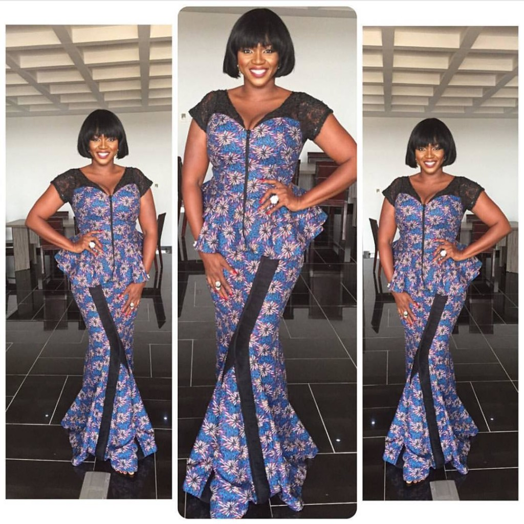 10 Beautiful Asoebi And Ankara Styles Over The Weekend