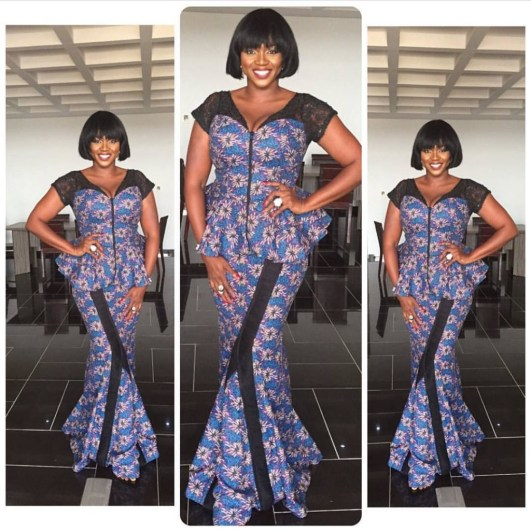 10 beautiful asoebi and ankara styles @waje amillionstyles.com