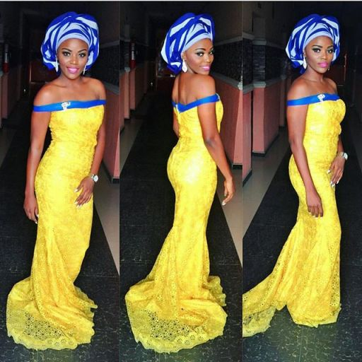 magnificent aso ebi styles in lace amillionstyles.com @carphie-azeez