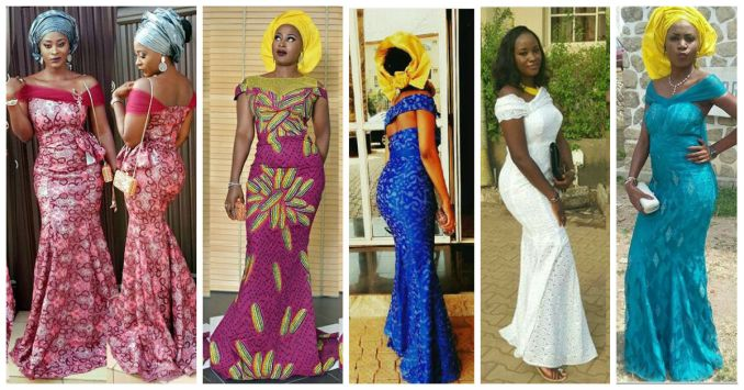10 Latest Aso Ebi Styles - This Weekend amillionstyles.com