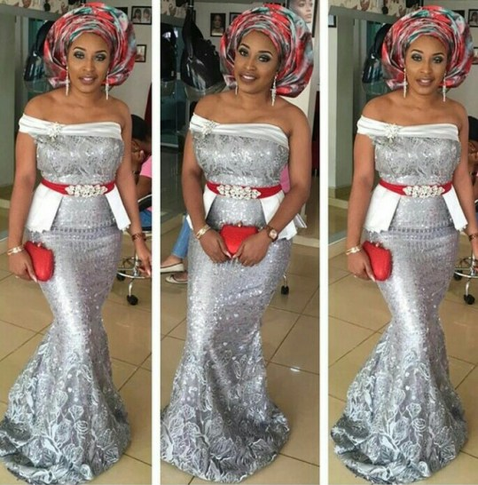 Trending Aso Ebi styles amillionstyles.com @kwinrach