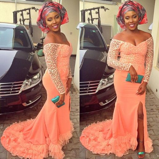 Trending Aso Ebi styles amillionstyles.com @rootilicious
