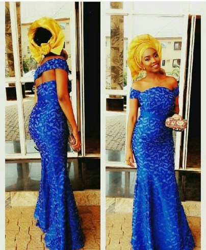 10 Latest Aso Ebi Styles - This Weekend amillionstyles.com @fej_orhoro
