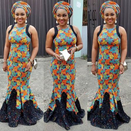 Fashion Ankara Styles from Mercy Aigbe Gentry amillionstyles.com @mercyaigbegentry