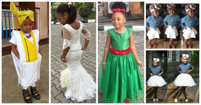 10 Adorable Kids In Their Awesome Outfit amillionstyles.com 2016