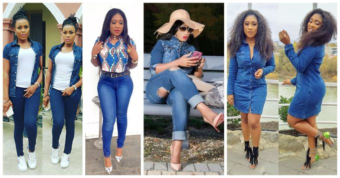 Awesome Ways To Rock That Denim amillionstyles 2016