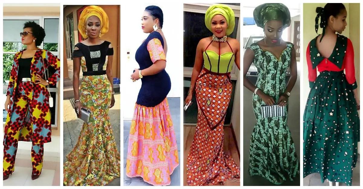 Nigeria Ankara Dresses Styles 2016 Trendy4