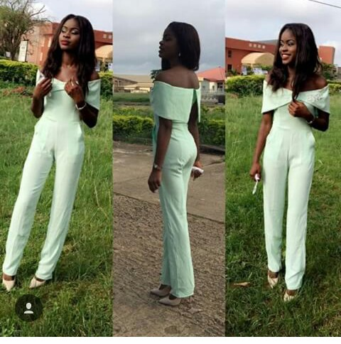 Unique Jumpsuit Styles on amillionstyles.com @joy_dumebi-