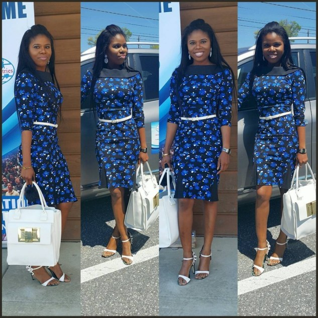 10 Stylish Plain Or Patterned Dresses for Church amillionstyles.com  @ms_west__