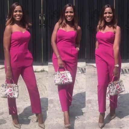 Woman Crush Wednesday: Best Of Linda Ikeji In Jumpsuit