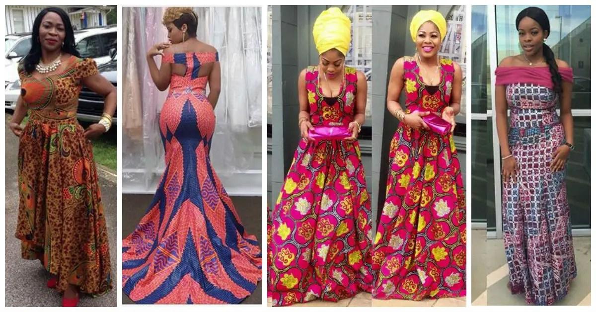 Latest Full Gown Ankara Styles - We Love.