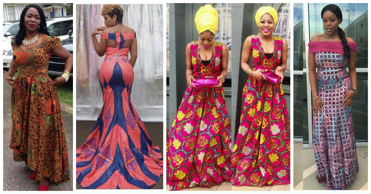 Latest Full Gown Ankara Styles - We Love. | A Million Styles Africa