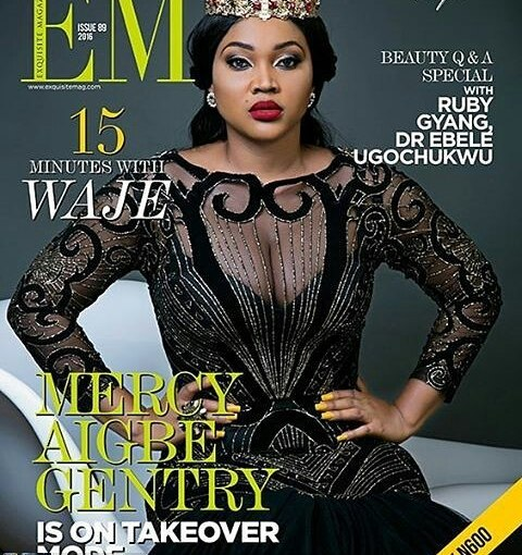 Mercy Aigbe covers @mercyaigbegentry