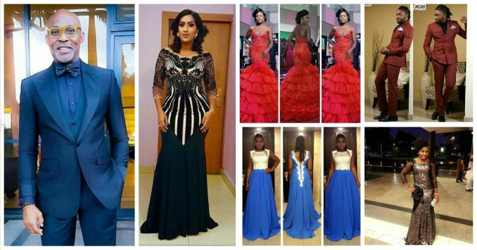 celebrities at africa movie academy awards 2016 amillionstyles.com
