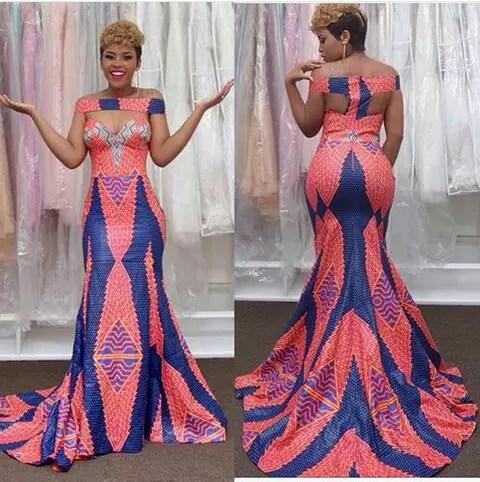 Latest Full Gown Ankara Styles amillionstyles.com @elizabethmichaelofficial