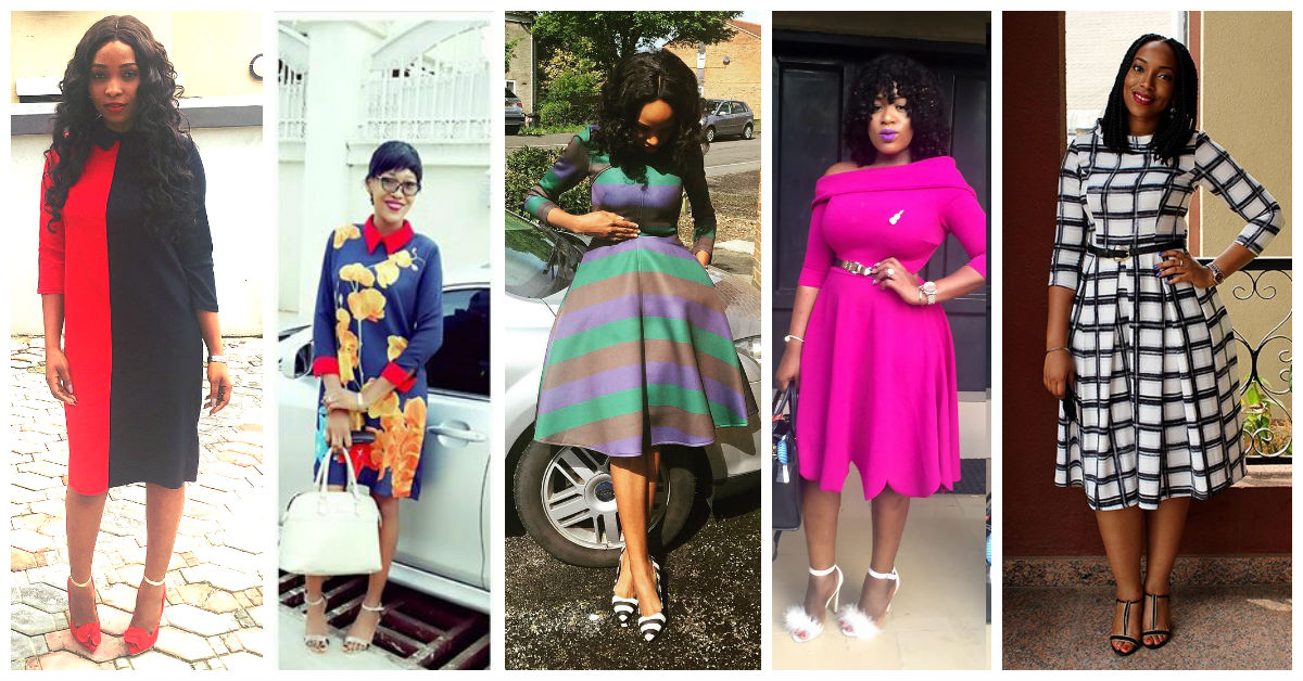 Fashion For Church - Plain, Patterned And Flora Dresses amillionstyles