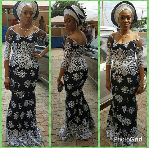 Classy Aso Ebi Styles In Lace Worn Over The Weekend @glitzglamoutfitz